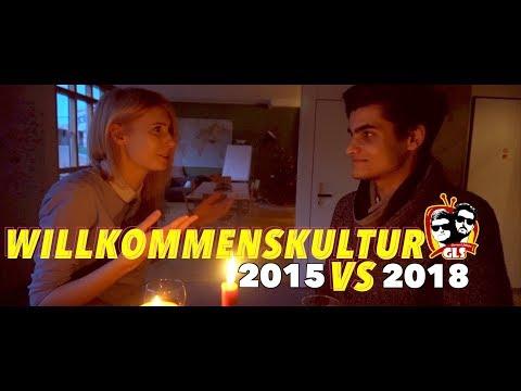 Willkommenskultur in Deutschland 2015 vs 2018