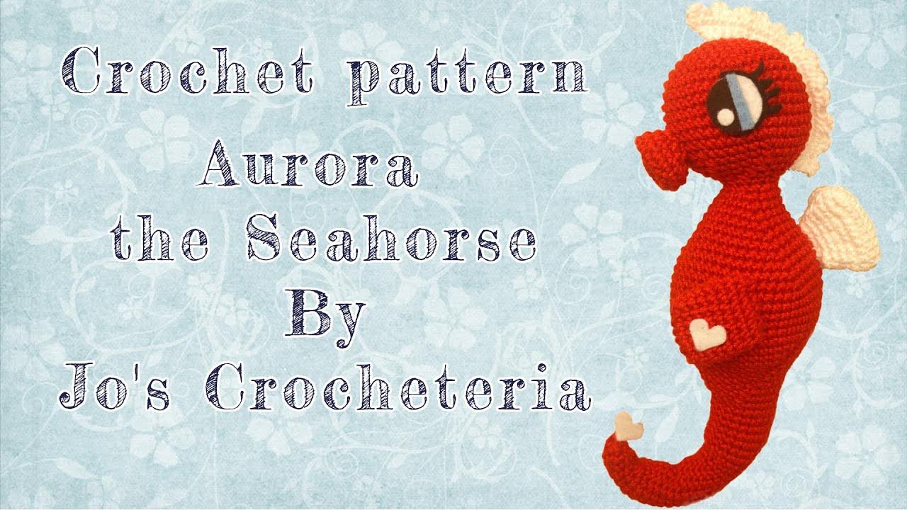 Cavalluccio Marino Amigurumi | How to crochet a Seahorse - YouTube | 720x1280