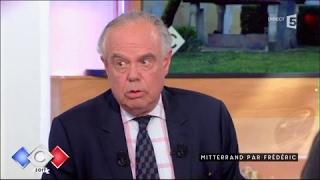 Mitterrand par Frédéric - C à vous - 15/05/2017