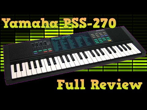 Yamaha PSS-270 Retro-Keyboard Full Review