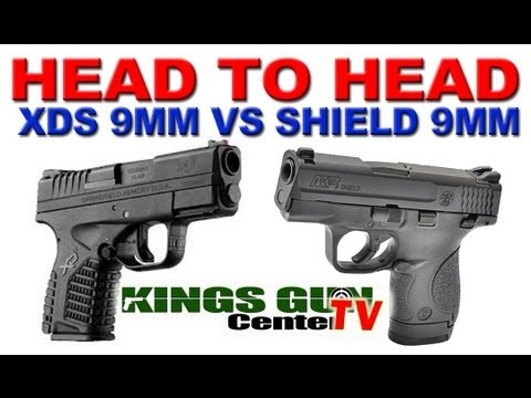 M And P Shield Vs Xds Glock 43 - Springfield...