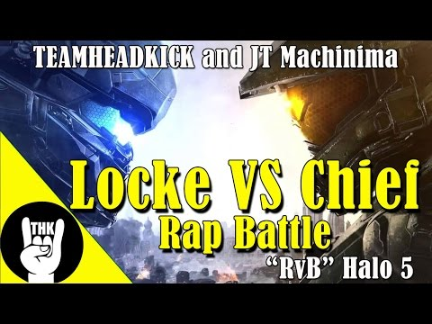 """Chief vs Locke"" RAP BATTLE by JT Machinima and Teamheadkick 