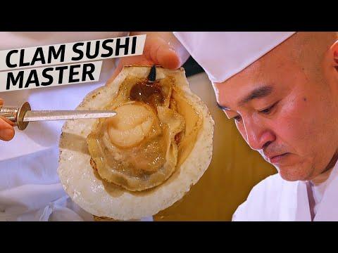 Sushi Chef Tatsuya Sekiguchi Is A Master Of Shellfish — Omakase