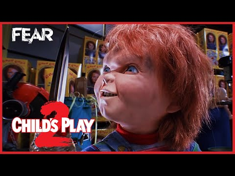 Chucky Gets His Hand Ripped Off | Child's Play 2