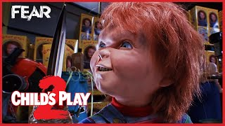 Chucky Gets His Arm Ripped Off | Child's Play 2