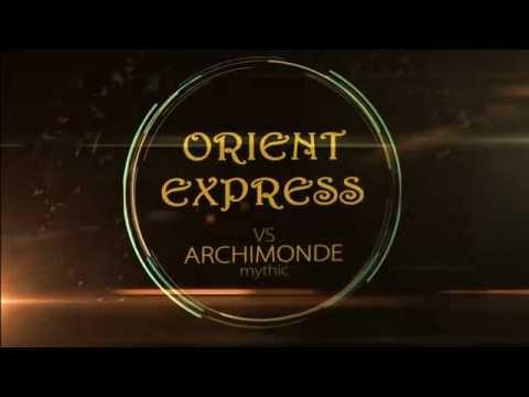Восточный экспресс vs Archimonde Mythic - Warlock POV