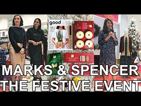 Marks and Spencer Dubai The Festive Event | Jane Fashion Travels