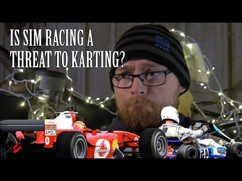 Is Sim Racing A Threat To Karting?
