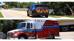 *FIRE CHIEF RESPONDS* Rescue 78 & Fire Chief Responding To a TRAUMA - Ponce Inlet Fire Department