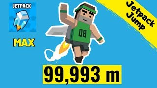 Jetpack Jump World Record 99 993 m - The BEST