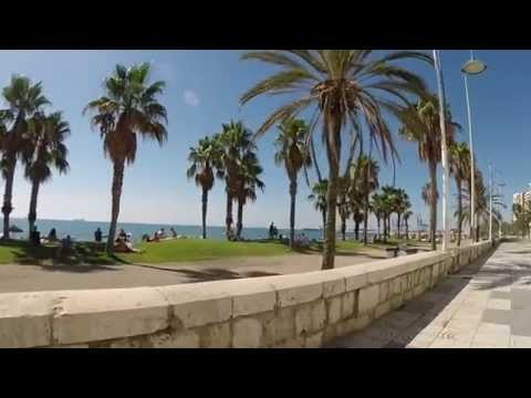 Málaga, Spain (by Bike)