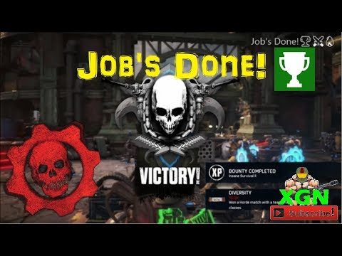 Gears of War 4 how to unlock Job's Done Achievement, Max Engineer Class gameplay