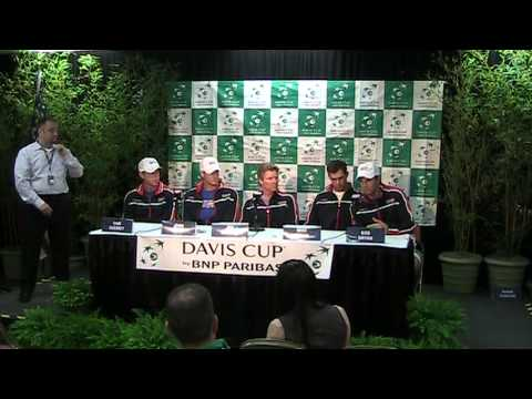 United States Davis Cup Press Conference