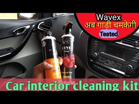 Best interior cleaning products for your car from Wavex Autocare