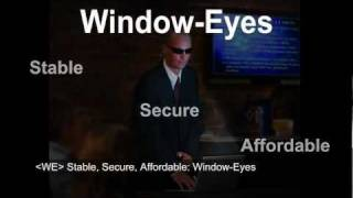 Window-Eyes Introduction (with Captions) thumbnail
