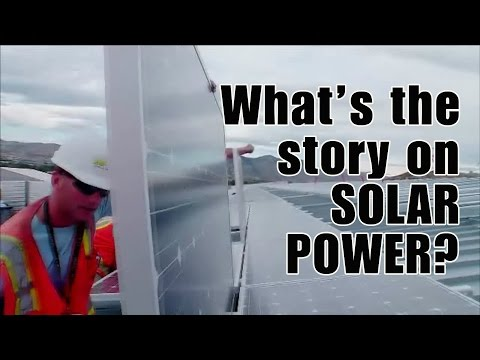 What's the story on SOLAR POWER?
