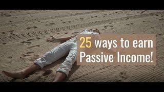 25 Ideas for Generating Passive Income| बड़ी लागत के बिना Passive Income के 25 Ideas| Sarvik Sharma|