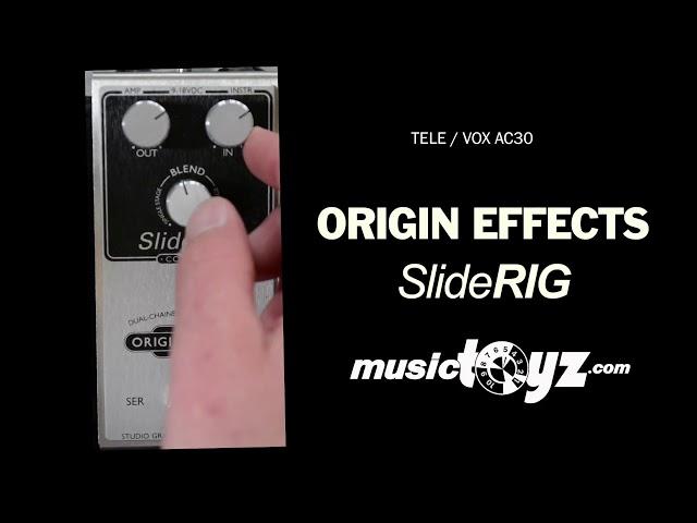 Origin Effects Cali76 Sliderig Compact Compressor Pedal
