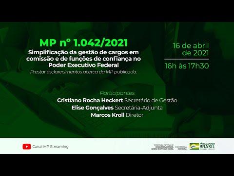 Webinar - Medida Provisória n° 1042, de 2021