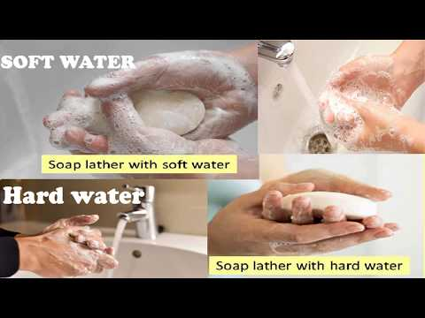 HARDNESS OF WATER (EFFECT, CAUSES, TYPES & DETAILS)