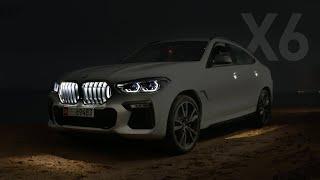 تجربة ليلية! بي ام دبليو اكس 6 الجديدة BMW X6 M50i