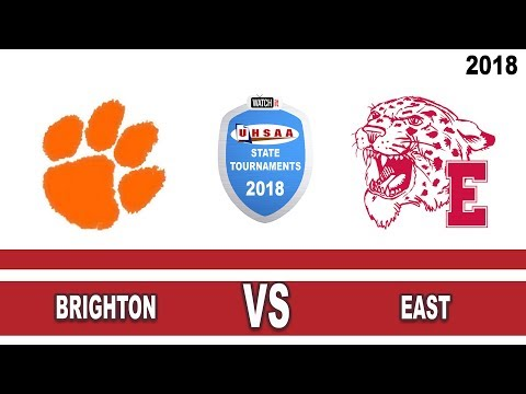 5A Girls Basketball: Brighton vs East High School UHSAA 2018 State Tournament Round 1