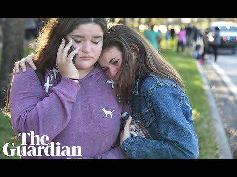 Florida high school shooting survivors: 'He shot through my door'