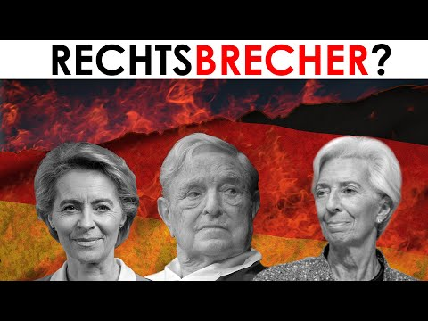 Explosive Studie & Dokumente: George Soros, von der Leyen, Lagarde, EZB und EU gegen Deutschland.