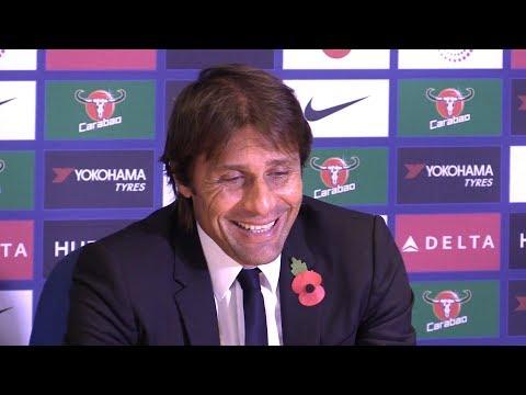 Chelsea 4-2 Watford - Antonio Conte Full Post Match Press Conference - Premier League