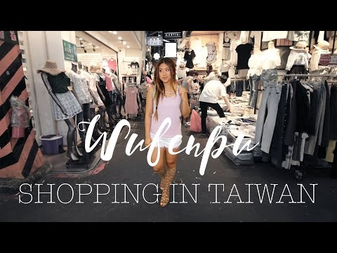 Shopping in Taiwan | Wufenpu Fashion Area | xomelrous