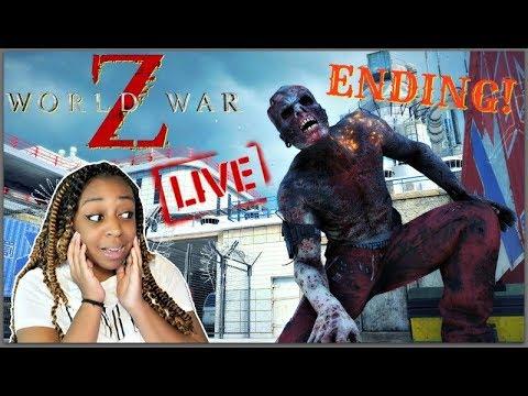 FIGHTING IN TOKYO!!   World War Z w/ Dwayne Kyng Finale!!