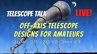 New Off-Axis Telescope Design for Amateur Astronomers