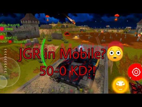 Tanki Online|juggernaut In Mobile Version!|50-0 KD?!|double Gold Take