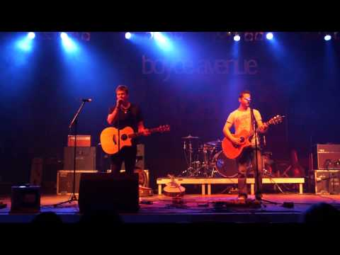 Boyce Avenue and Tyler Ward - Fix you - LIVE BERLIN 20.11.2011 at Huxleys HD