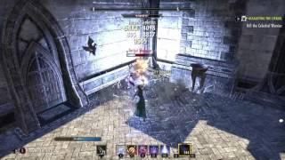 Elder Scrolls Online: Magicka Sorcerer DPS Test (42.5k)