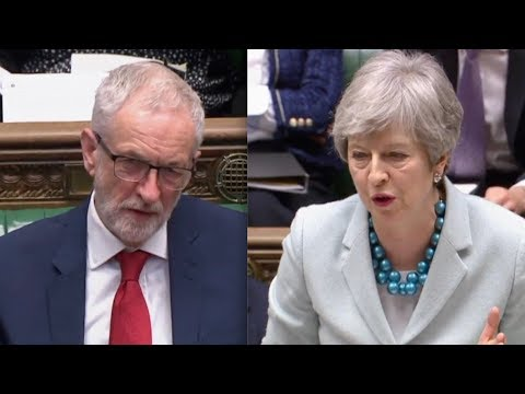 """BREXIT: Theresa May on brink clashes with Jeremy Corbyn, """"May's deal is dead"""""""