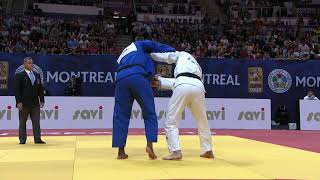 Teddy RINER vs Lukas KRPALEK - Semi Final Montreal GP 19