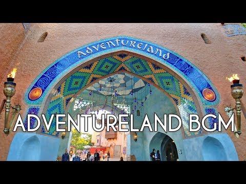 Adventureland BGM  Disneyland Paris