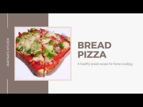 make-delicious-bread-pizza-at-home-|-quick-bread-pizza-recipe-|-pizza-without-a-dough-recipe