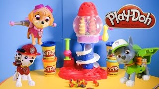 PAW PATROL Nickelodeon Paw Patrol Fix Play Doh Candy Cyclone a Paw Patrol Play Doh Video