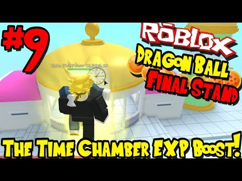 THE TIME CHAMBER EXP BOOST! | Roblox: Dragon Ball Final Stand - Episode 9