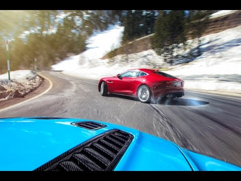 F Type Coupe >> Playing With a 2016 Jaguar F Type V6 - Drift and Sound - YouTube