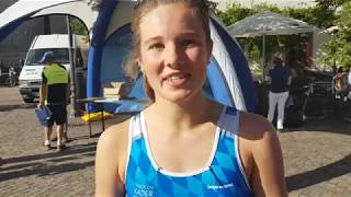 DM Grimma 2018: Franca Henseleit im Zielinterview
