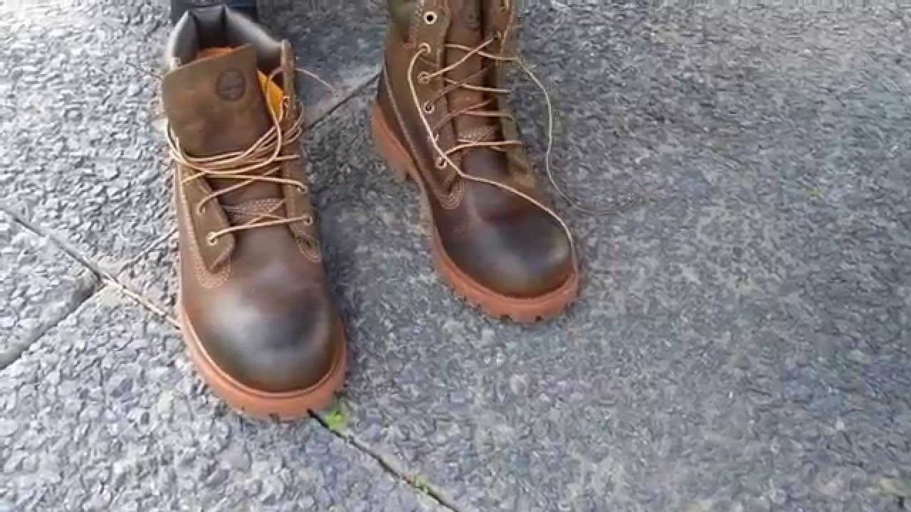 3e60008730 TIMBERLAND 80903 Authentics 6 inch Waterproof Boot Brown Smooth ...