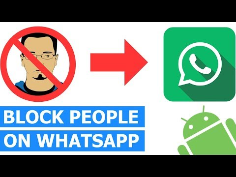 How to Block & Unblock Someone on WhatsApp on a Android Smartphone