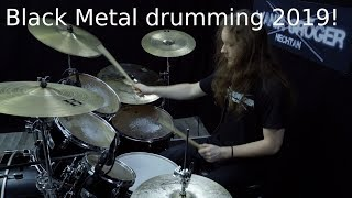 Black Metal Drumming 2019