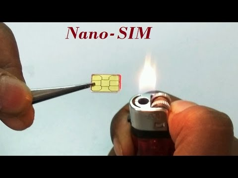 What is inside a Nano SIM Card - Visual and X-Ray inspection
