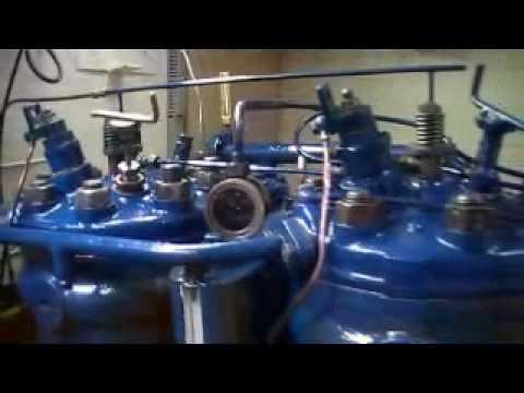 Old  marine engine