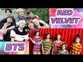 Bts и Red Velvet