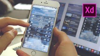Maak je eigen app in Adobe Experience Design Tutorial
